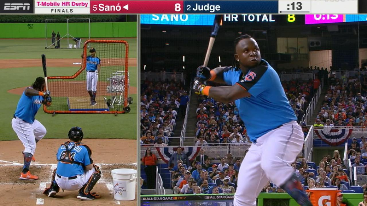 Sano's 10 homers in Finals