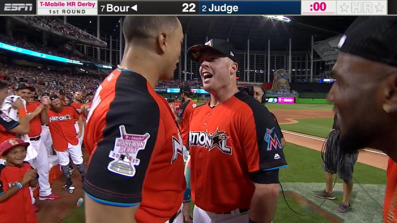 Bour's 22 Round 1 HRs not enough vs. Judge