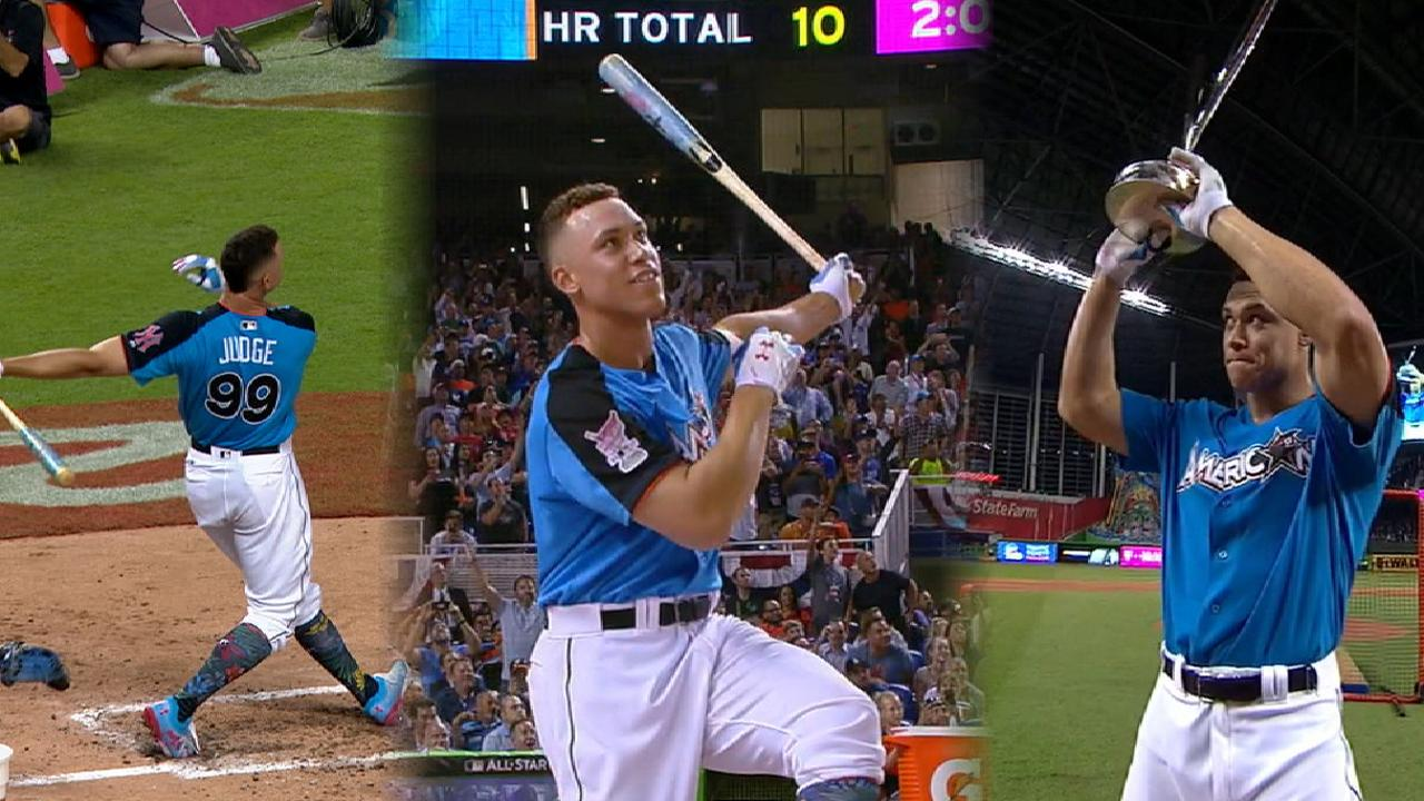 Judge wins 2017 HR Derby