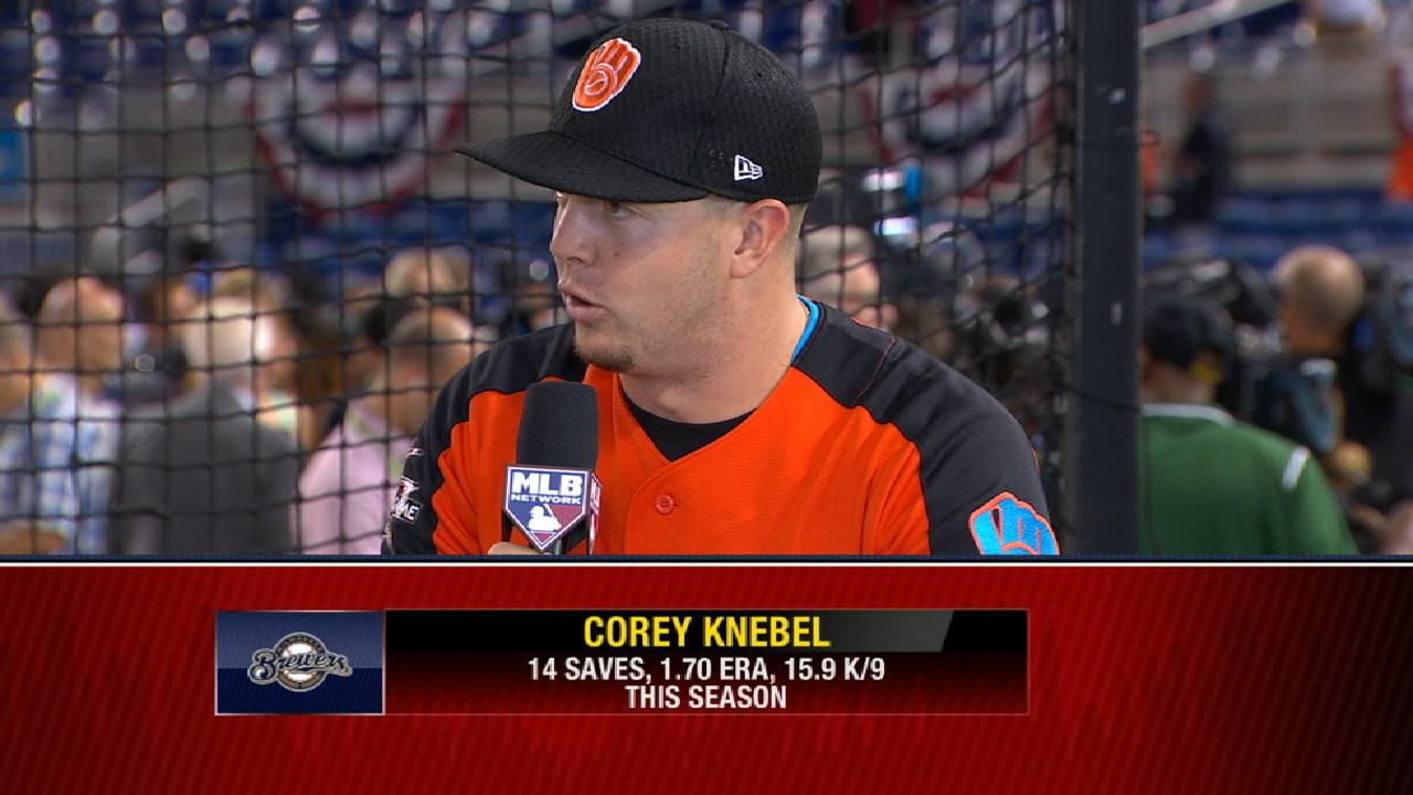 A year removed from Minors, Knebel enjoys ASG
