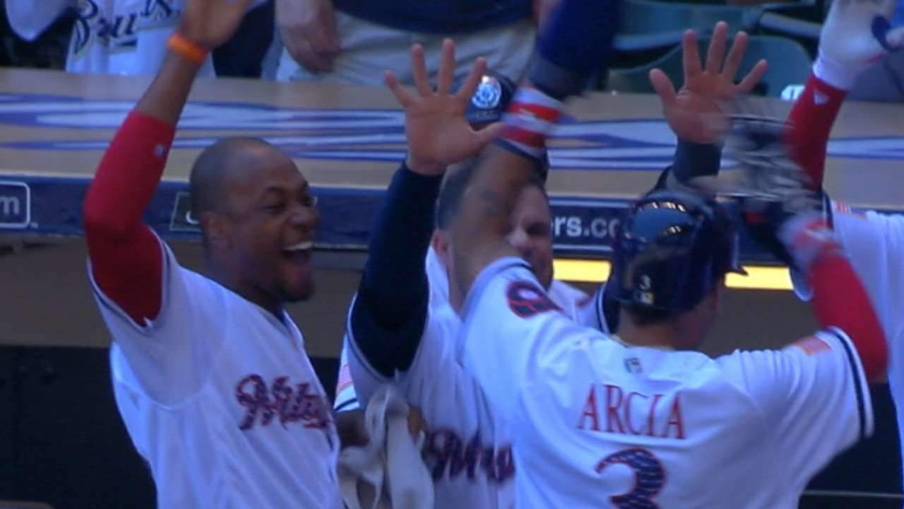 Brewers' midseason moments