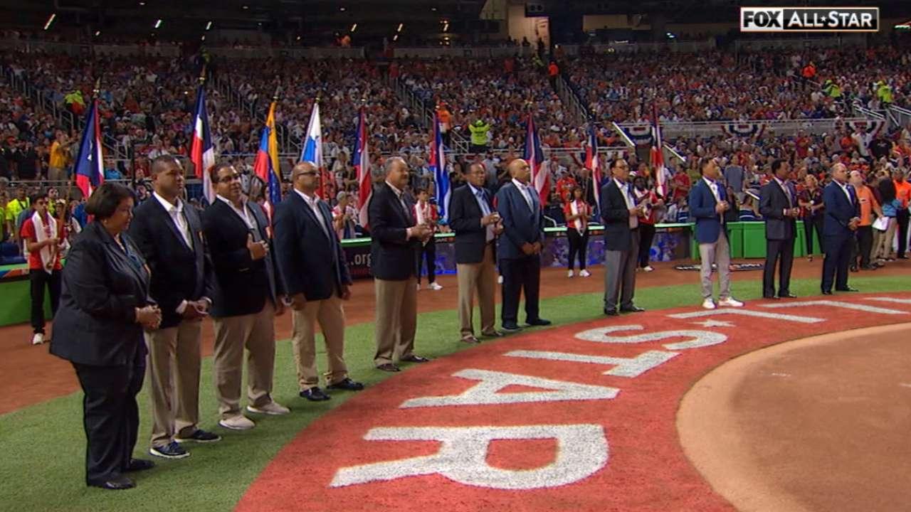 Inmortales latinos de cooperstown fueron homenajeados en miami