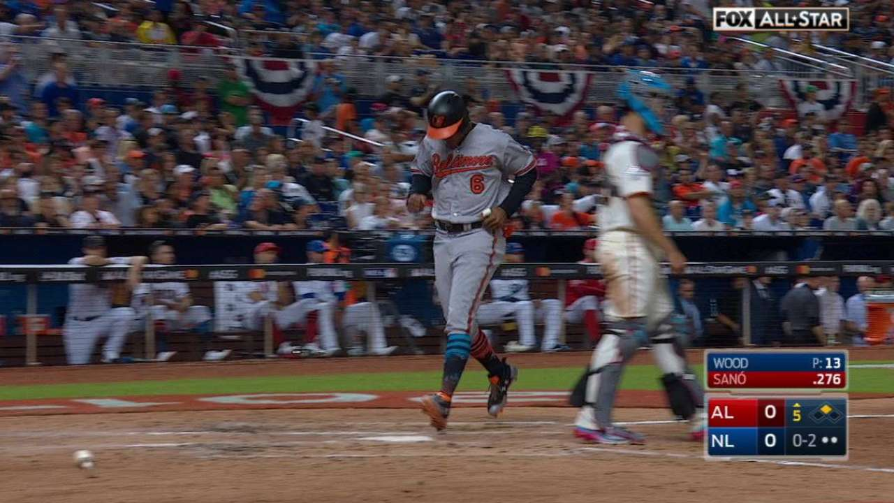 Sano's RBI single