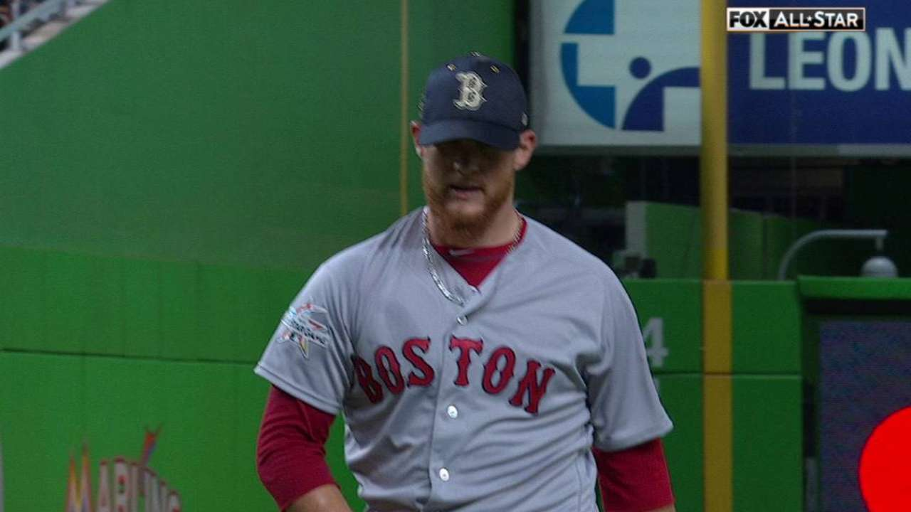 Kimbrel earns win