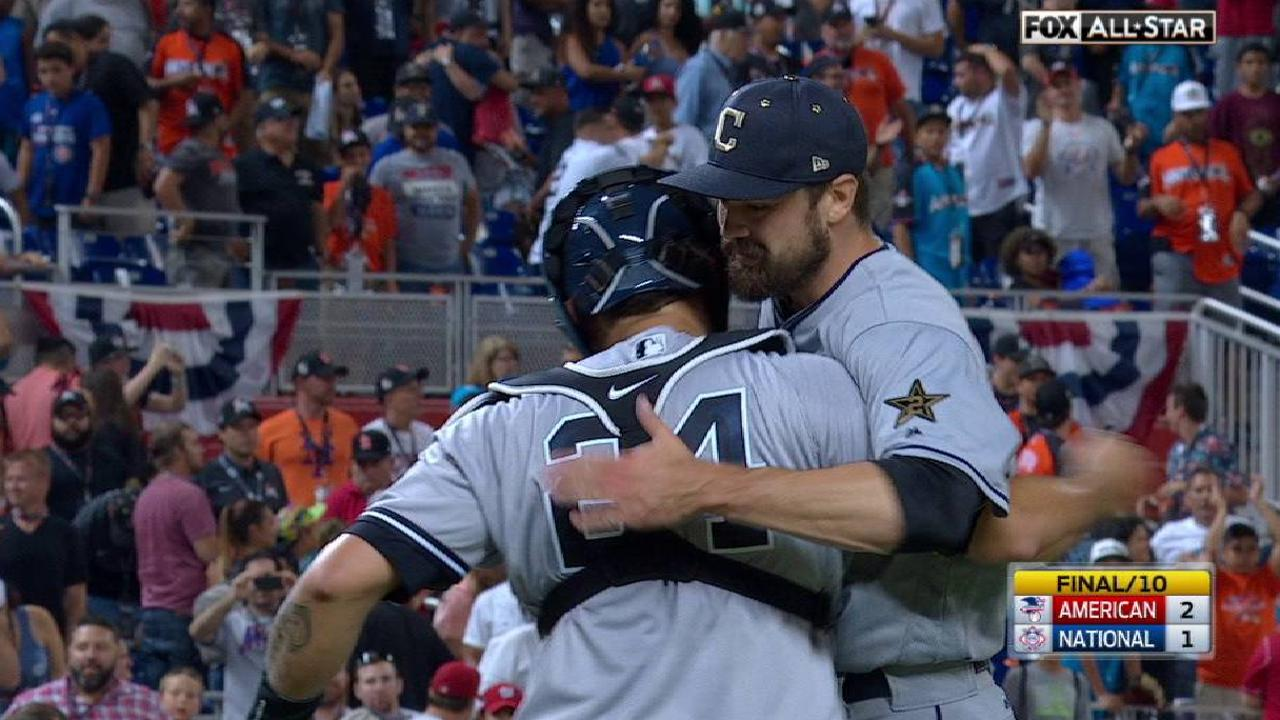 Miller secures the AL's win