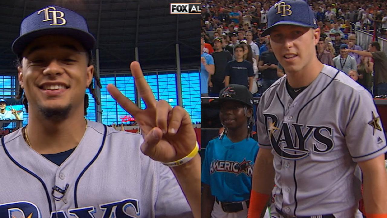 Dickerson, Archer soak up All-Star experience