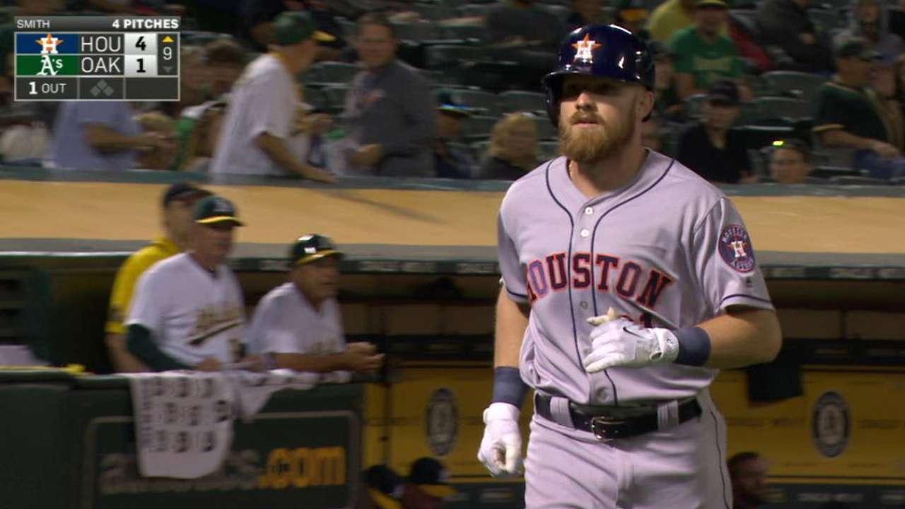 Fisher's solo home run