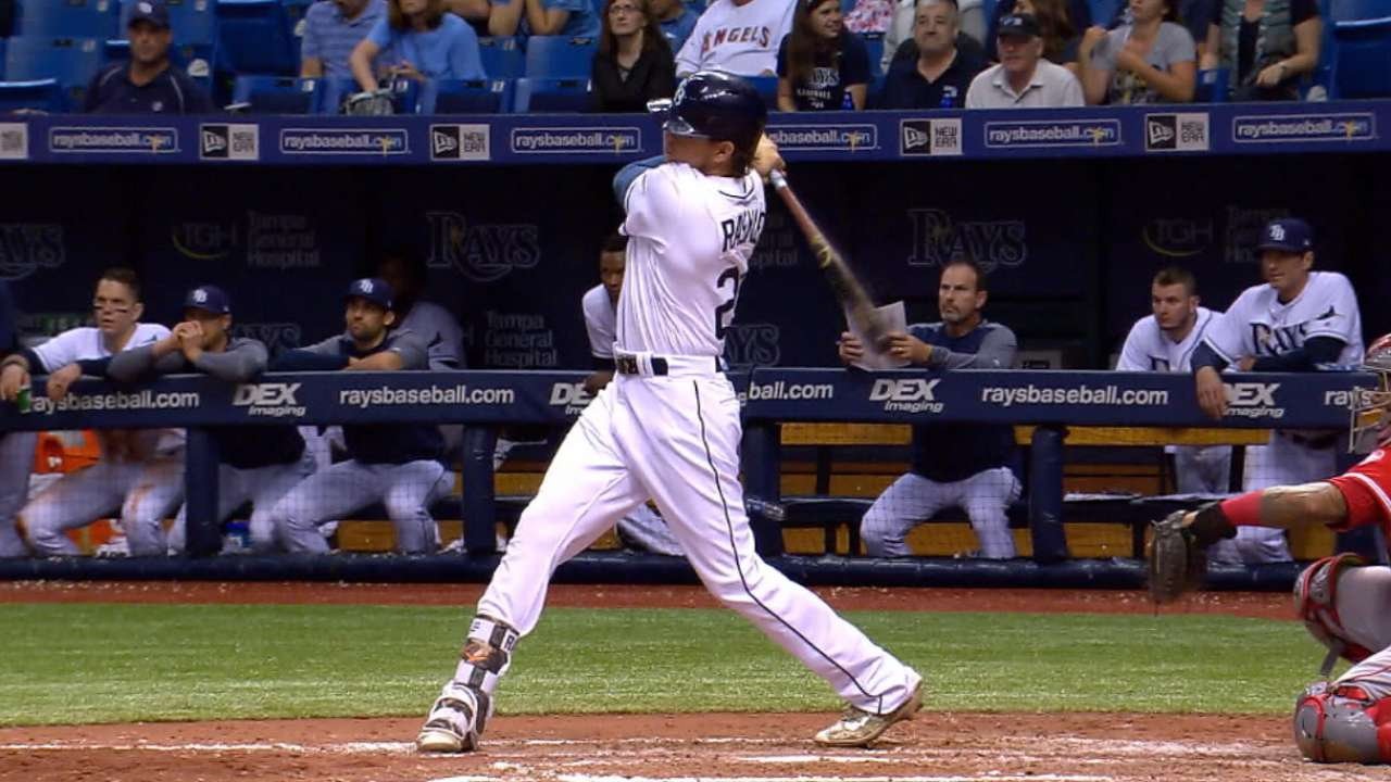 Rasmus leaves Rays, placed on restricted list