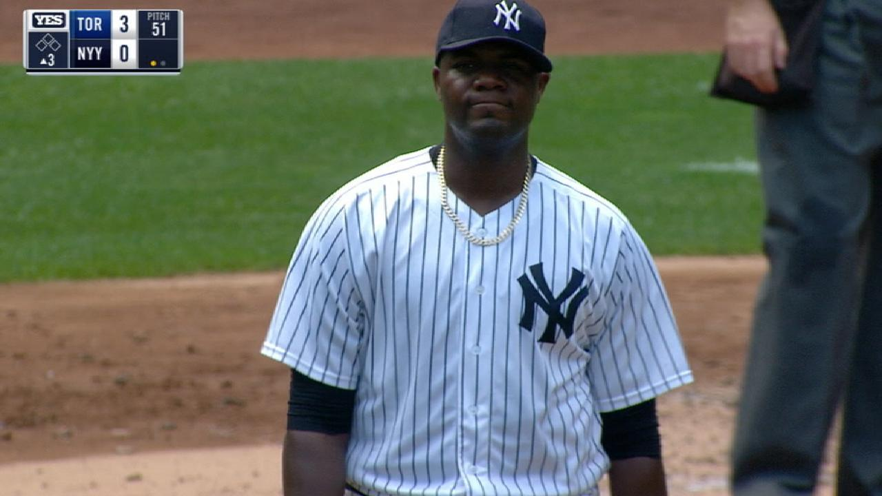 Justice on Pineda's injury