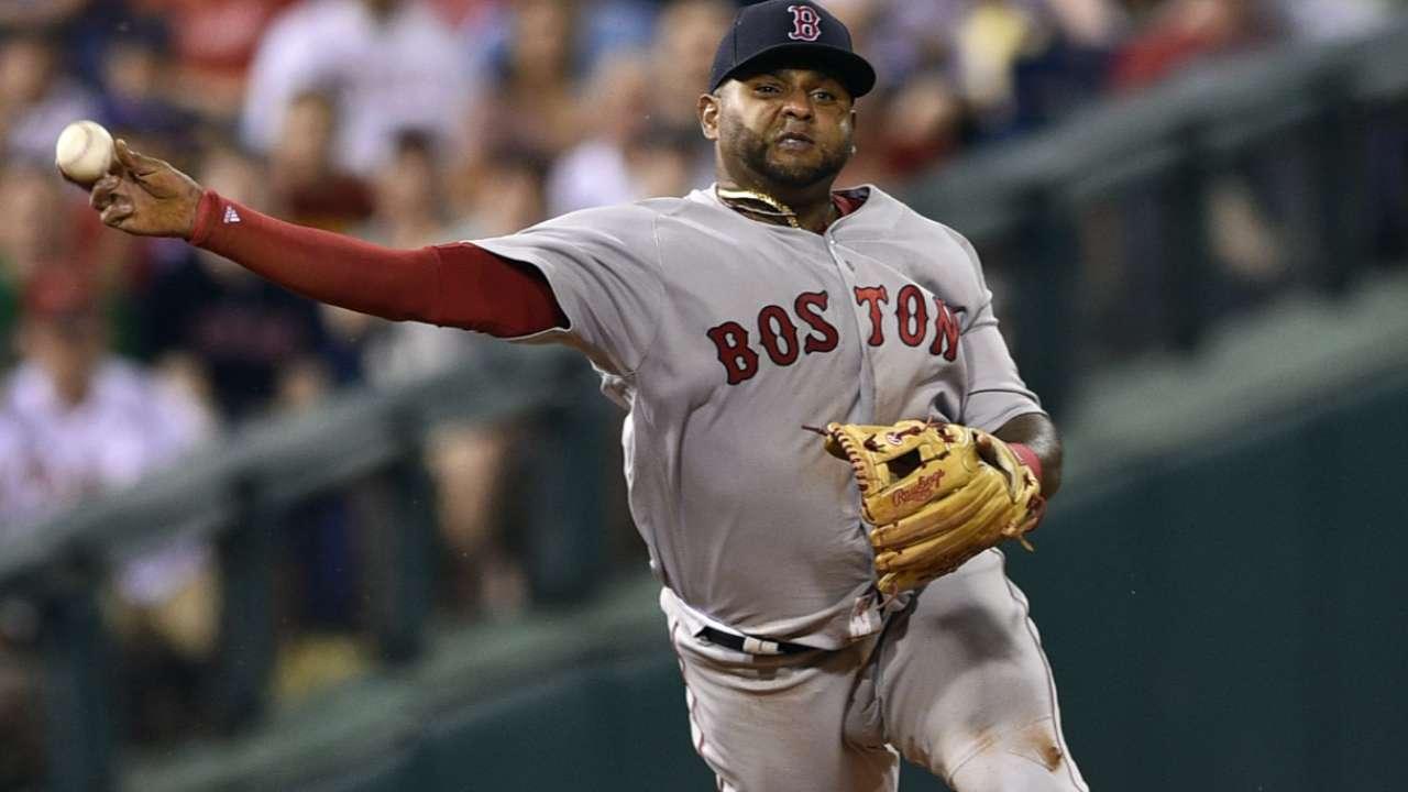 Sox designate Pablo Sandoval