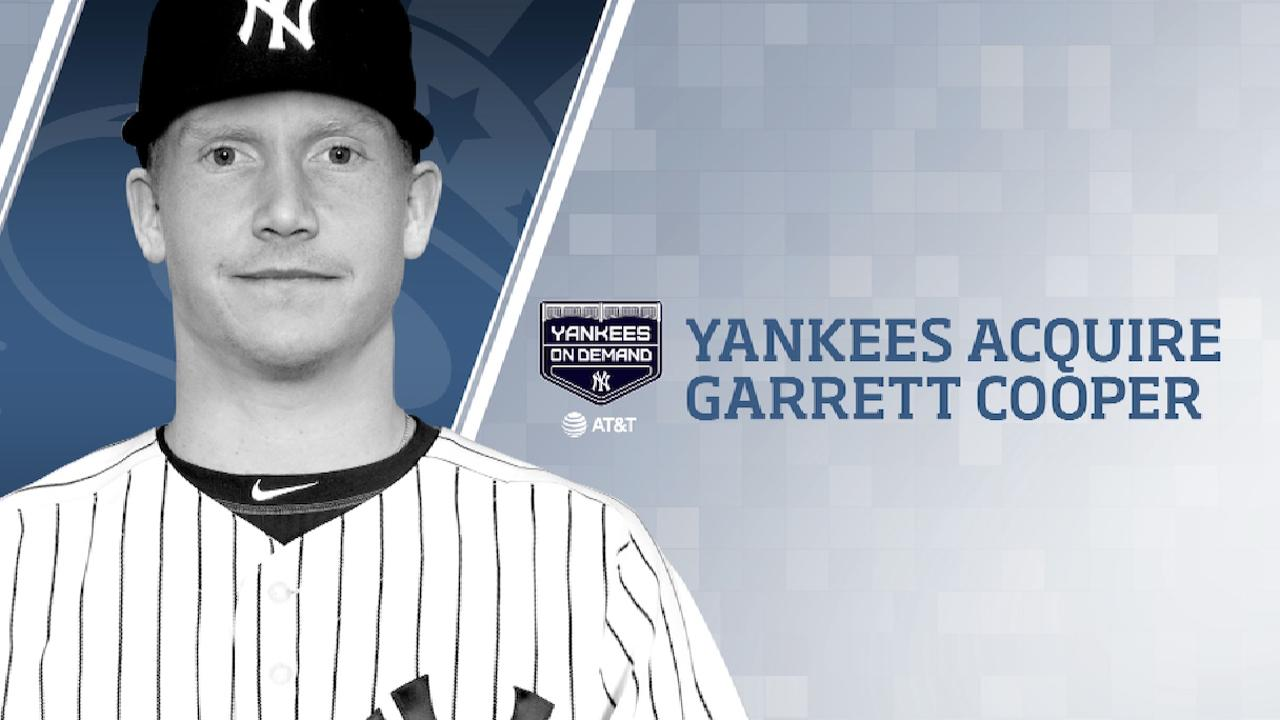 Yankees Acquire Garrett Cooper
