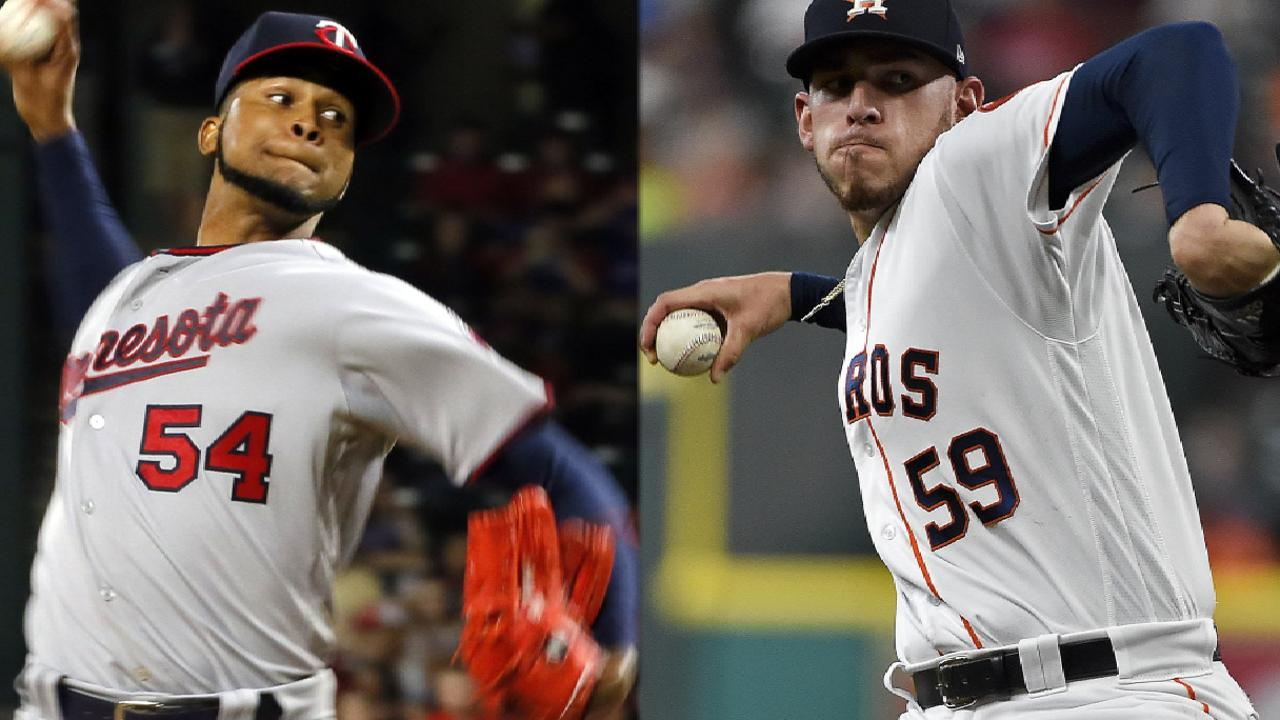 Astros aim to extend dominance over Twins