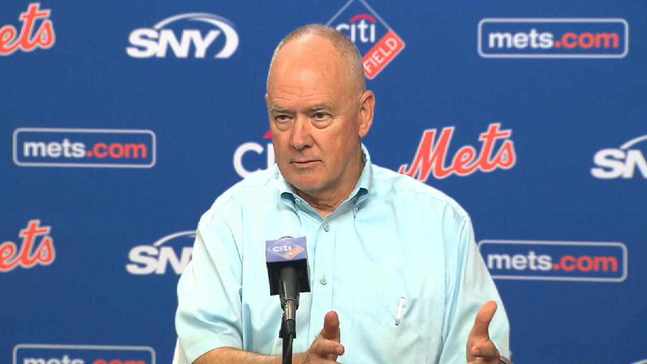 Alderson: Deadline a 'pause button' for Mets