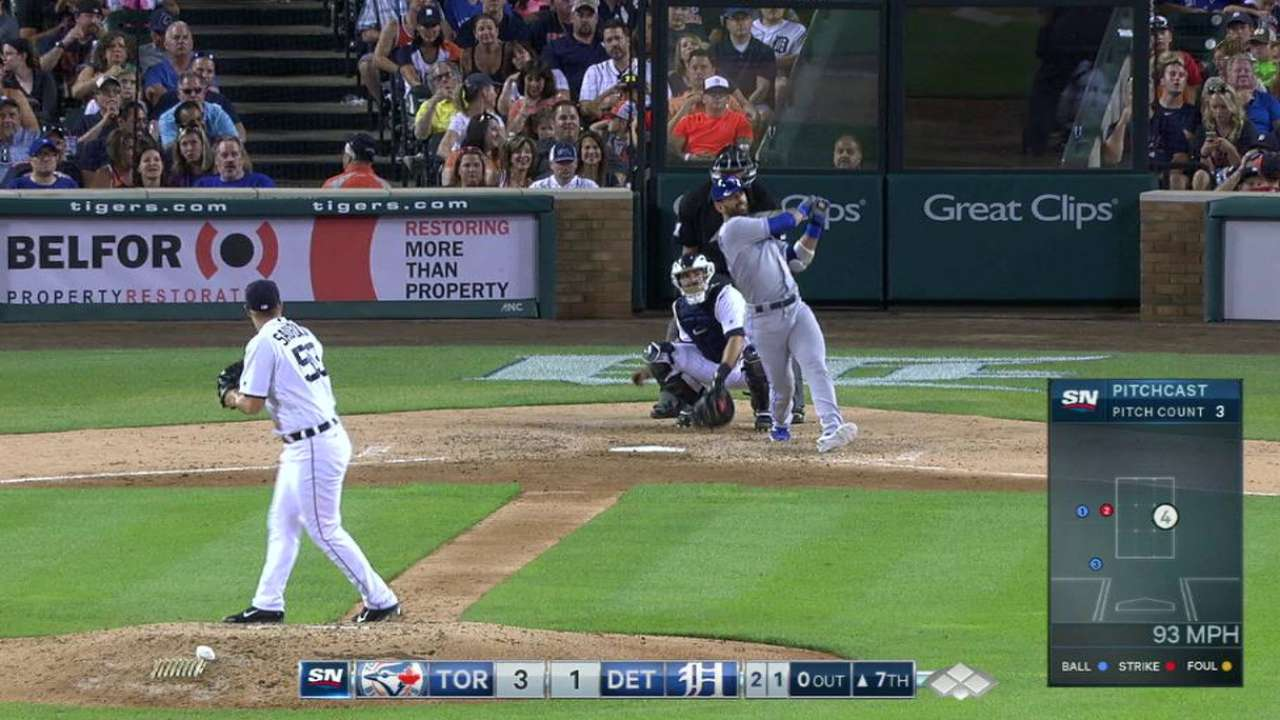 Bautista's solo blast in the 7th