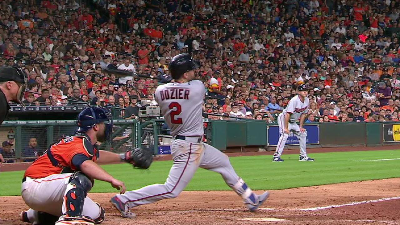 Dozier's bases-clearing double