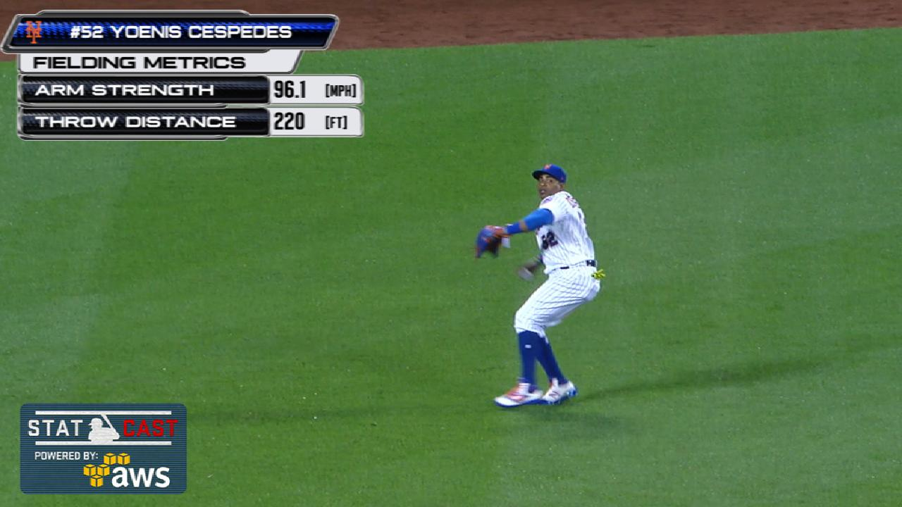 Statcast of the Day: Yo shows off legs, arm