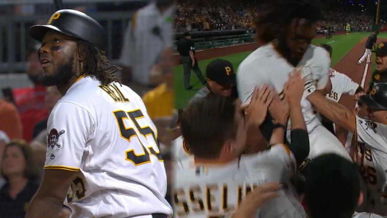 Bell's walk-off home run
