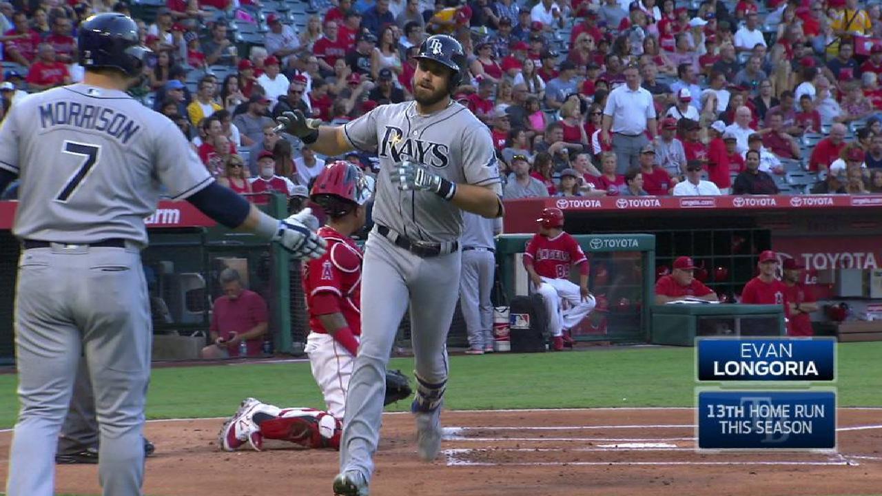 Longoria's solo home run