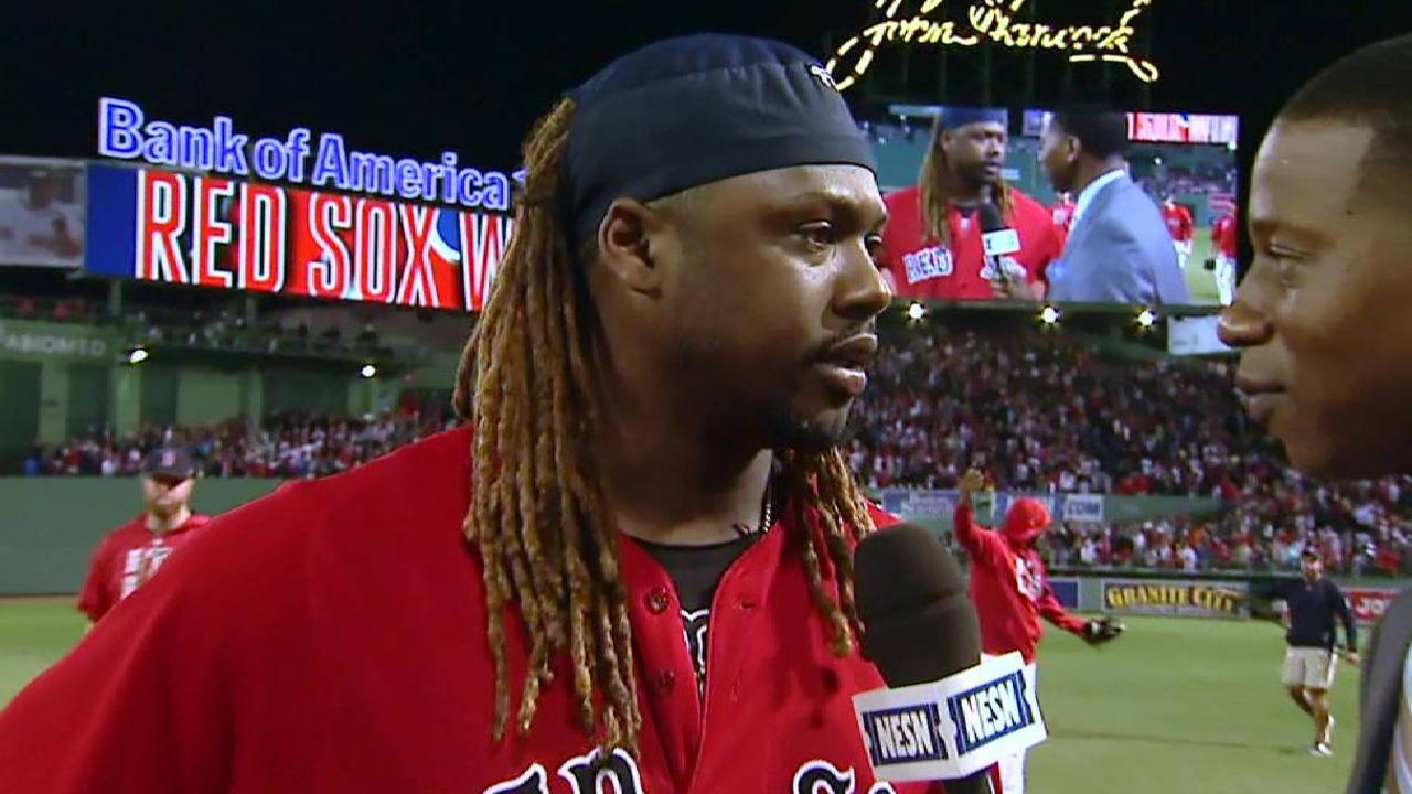 Hanley on the walk-off victory
