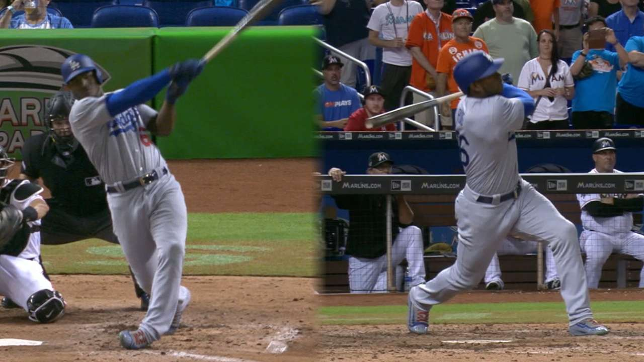 Must C: Puig's two-homer game