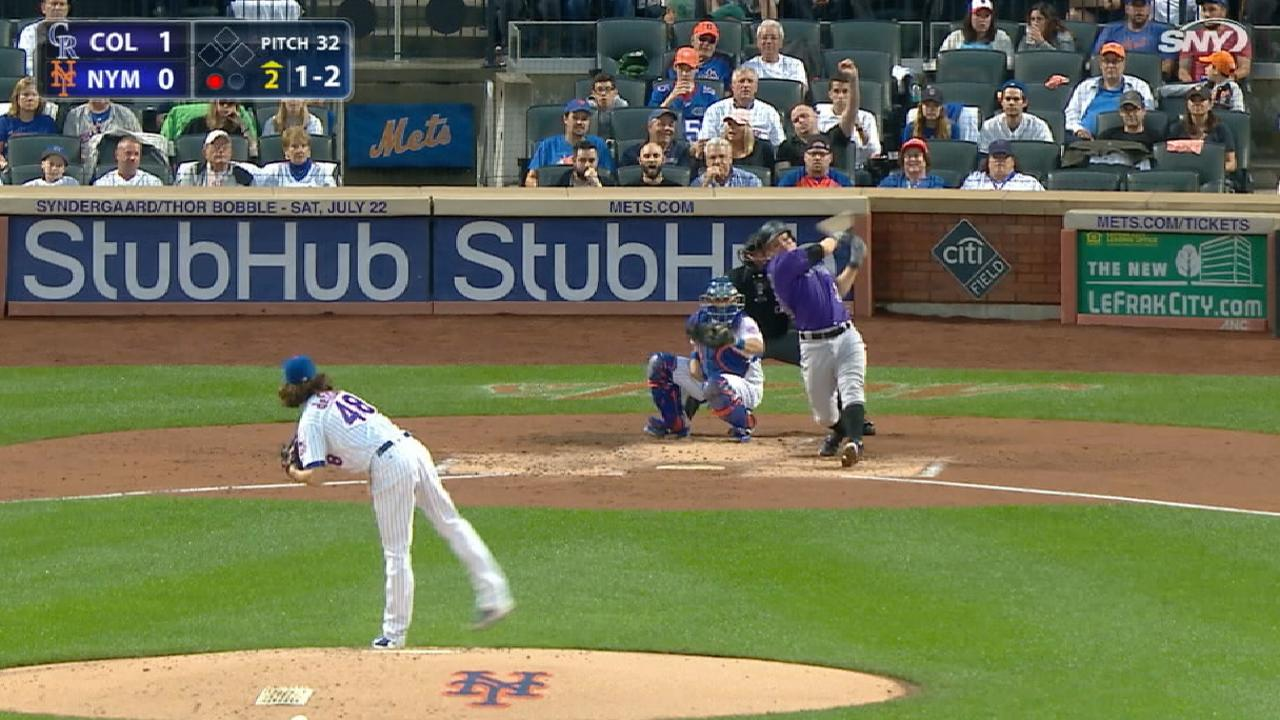 deGrom's 11 K's in 11 seconds