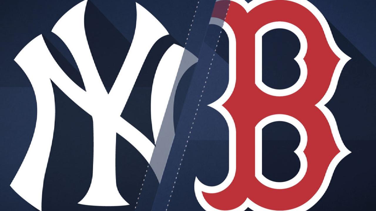 7/14/17: Medias Rojas le caen a Chapman y dejan tendidos a los Yankees
