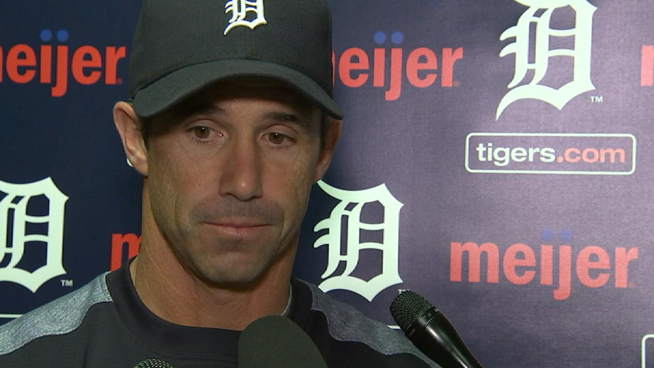 Ausmus, Tigers assemble for team meeting