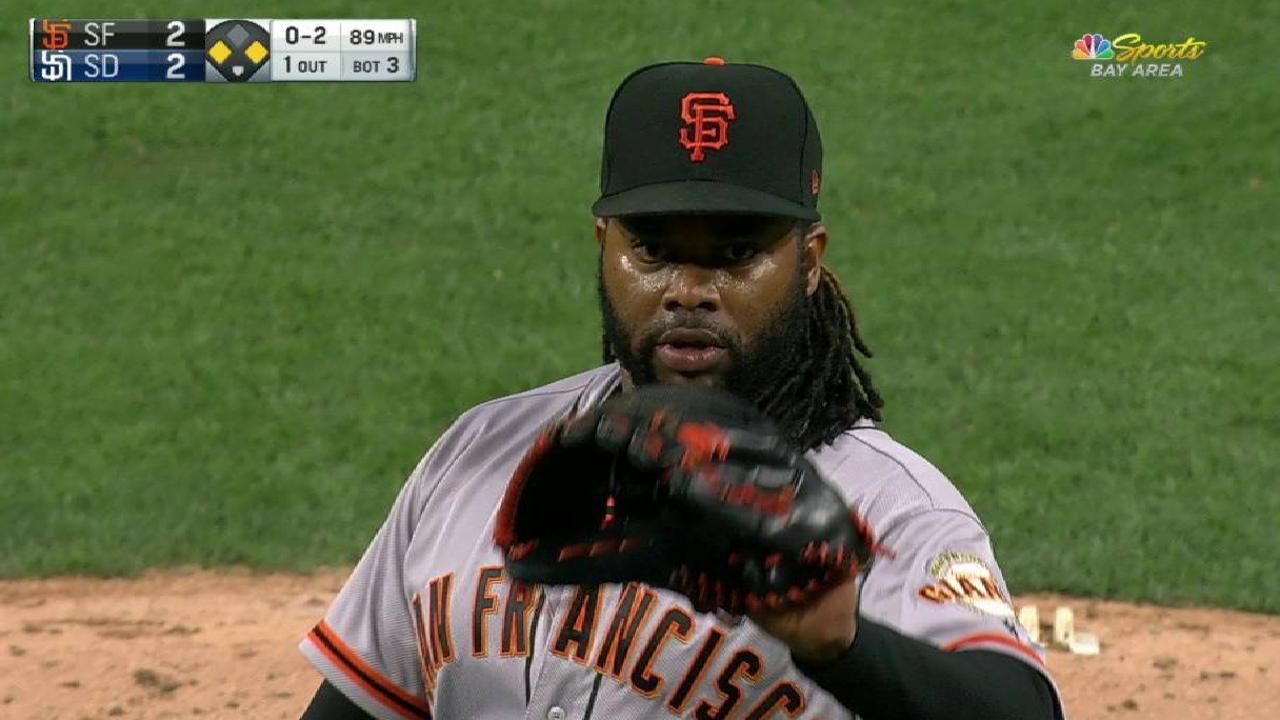 Cueto swaps places with Bumgarner on DL