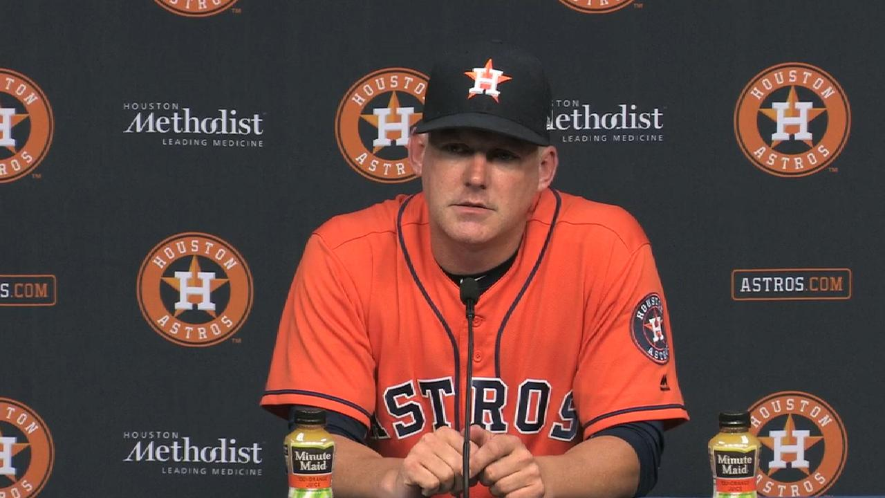 Hinch on 10-5 win over Twins