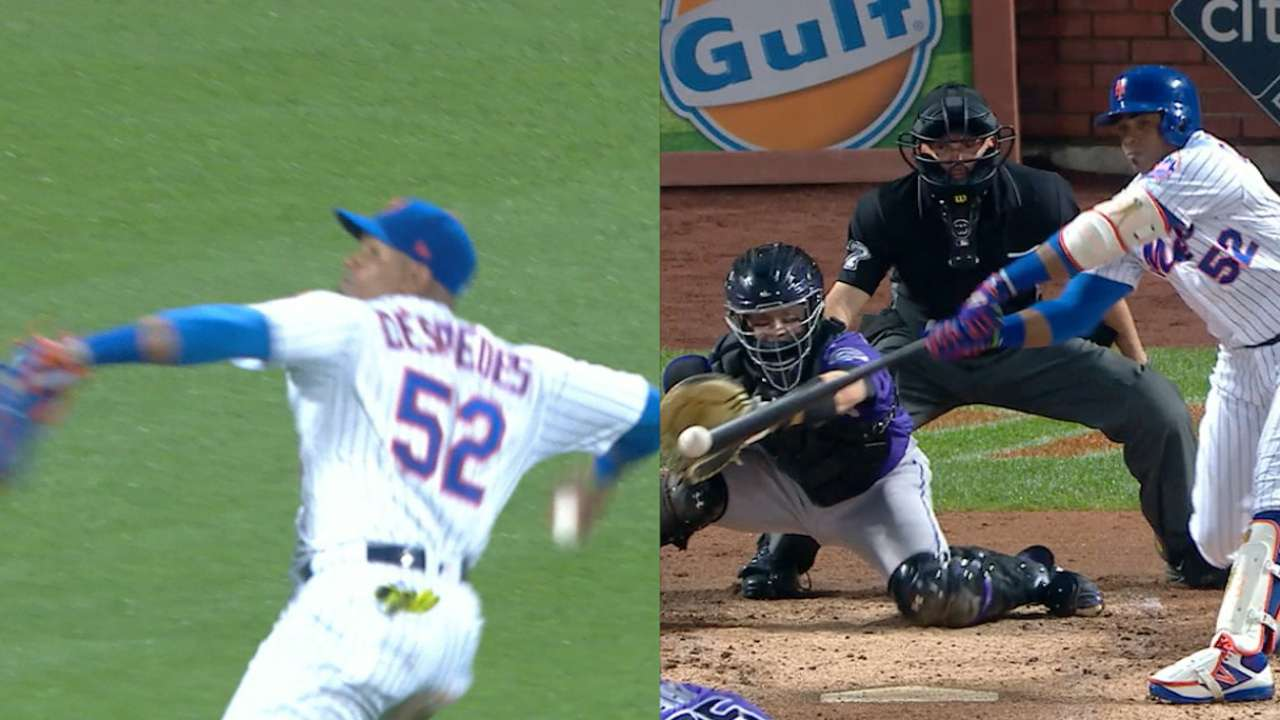 Cespedes' four-hit game