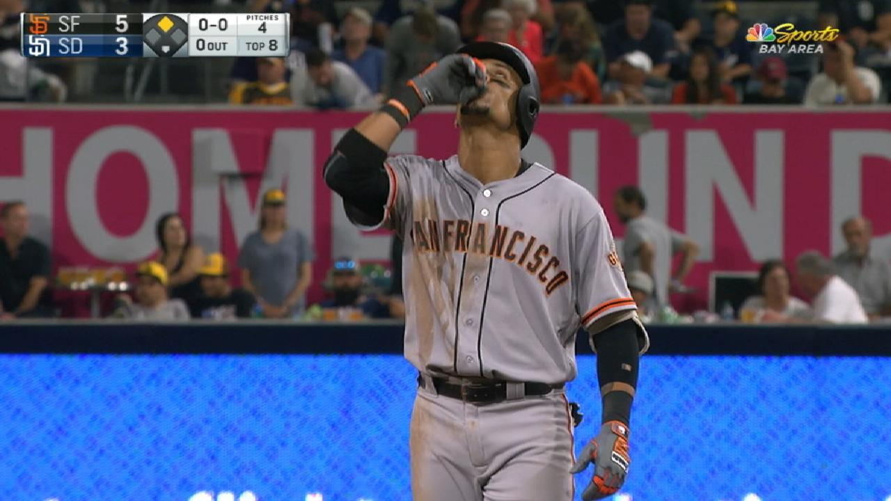 Gorkys' 4-hit game shows his value to Giants