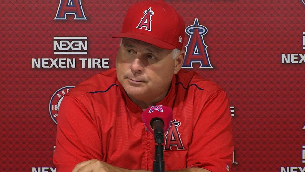 Scioscia on 2-1 loss to the Rays