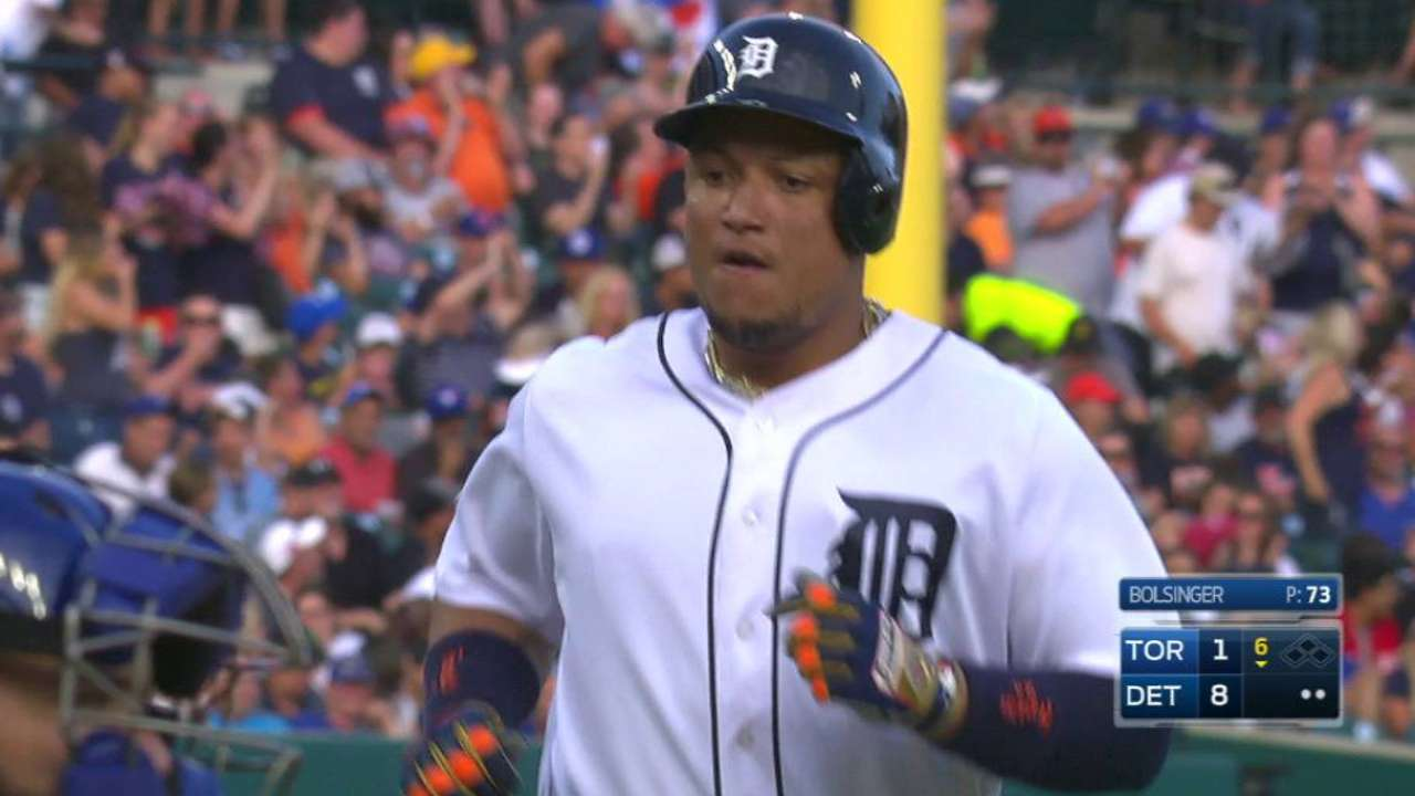 Miggy's two-run big fly
