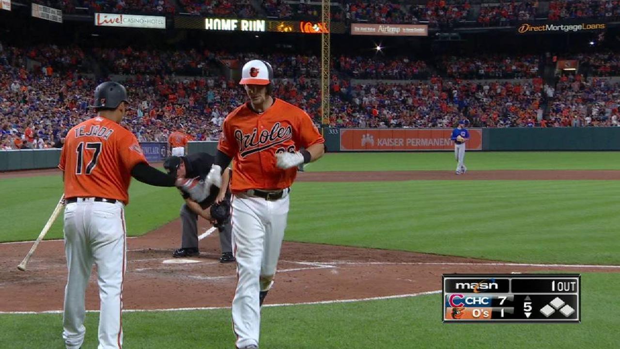 Joseph's solo home run