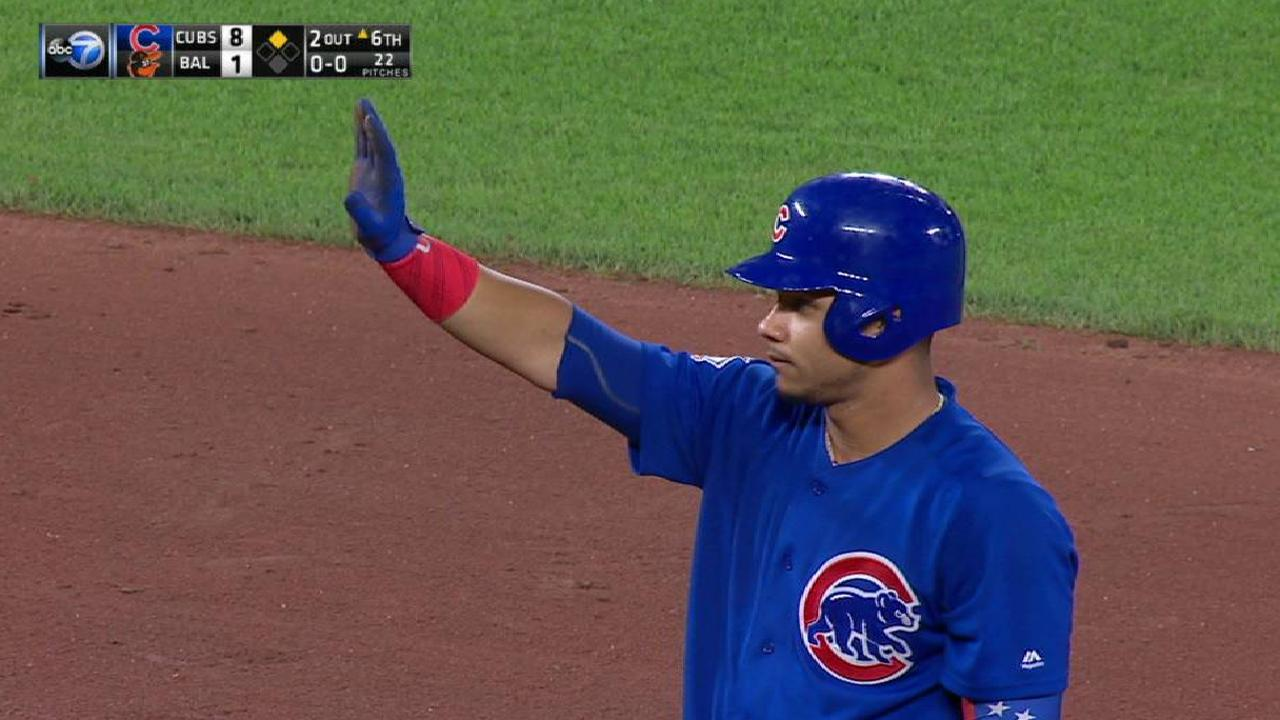 Contreras' RBI double