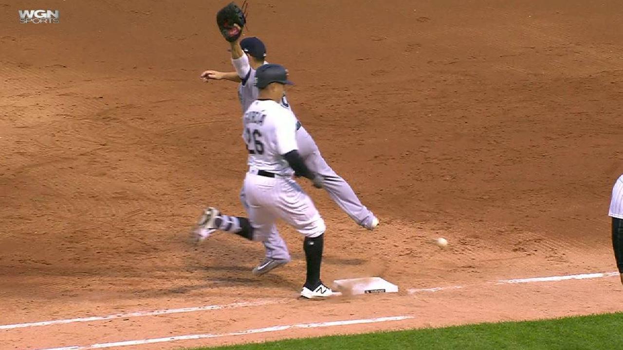 Avisail reaches on an error