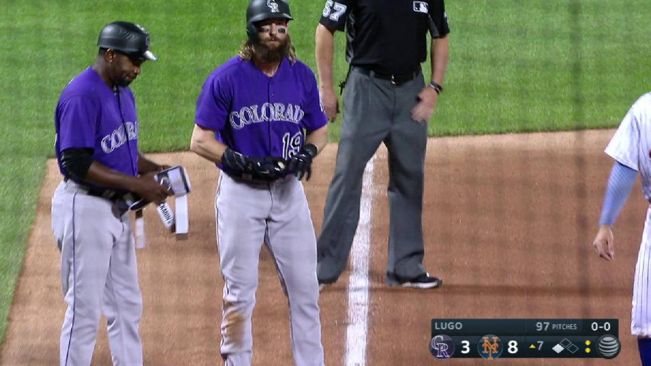 Rockies lose Chatwood, and game, vs. Mets