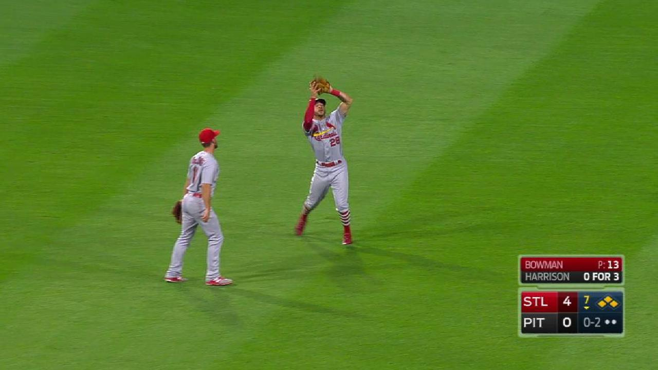 Bowman escapes bases-loaded jam