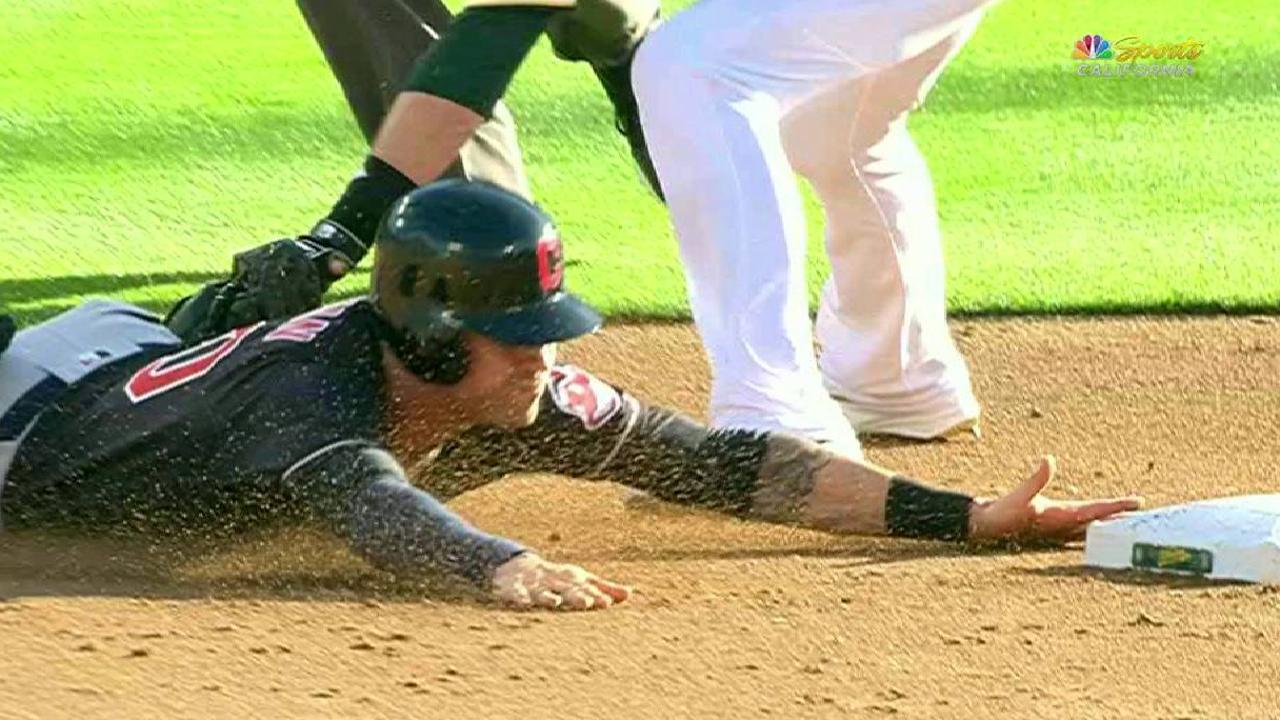 Naquin ruled out at second