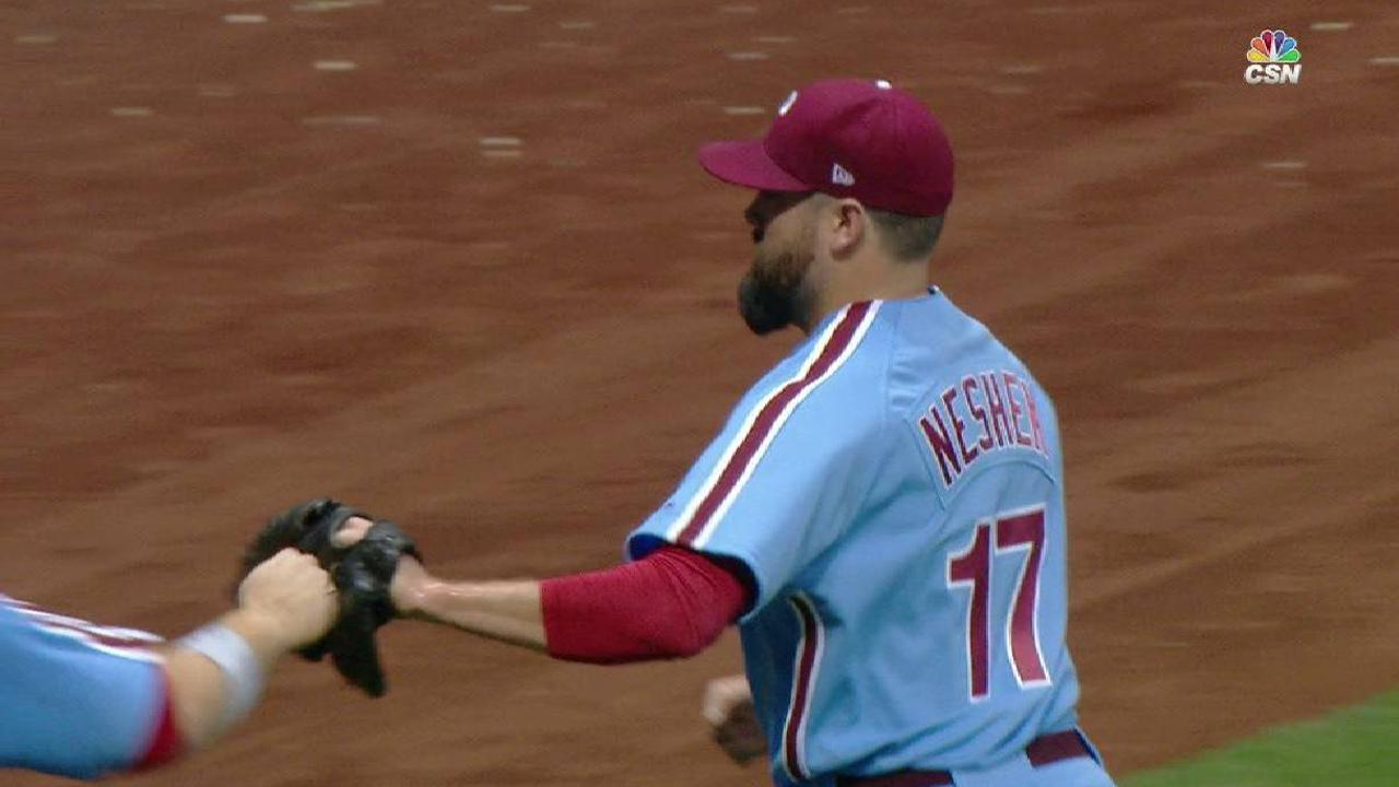 Neshek expects trade, takes rumors in stride