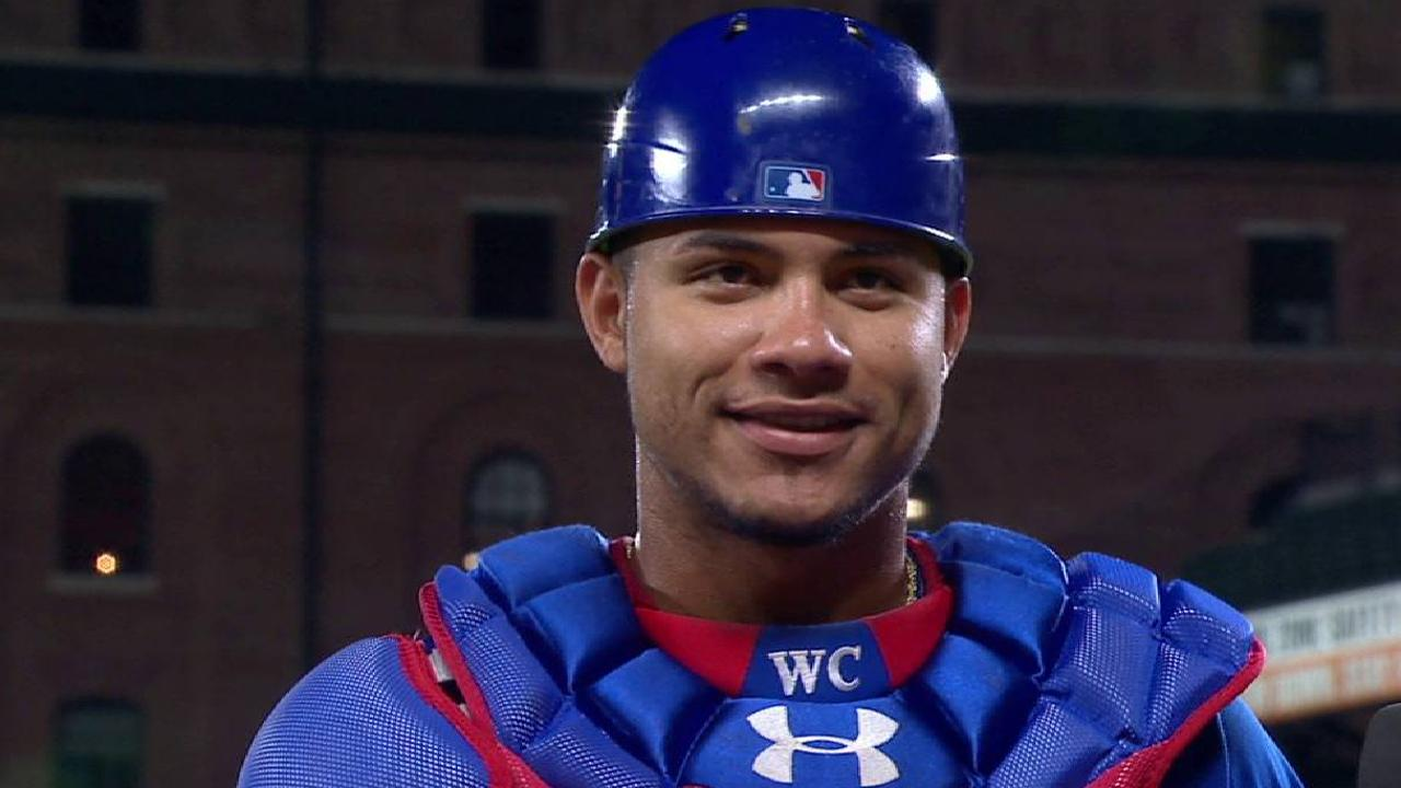 Contreras on Cubs' offense