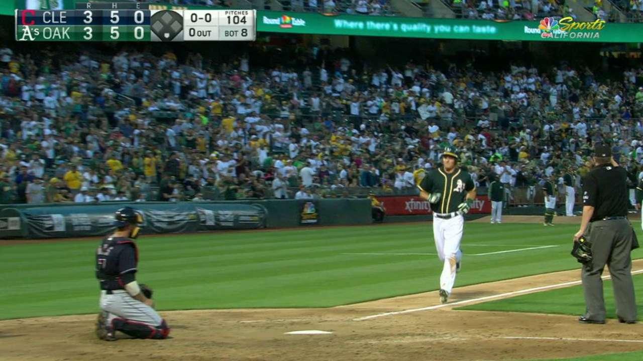 Chapman's second homer