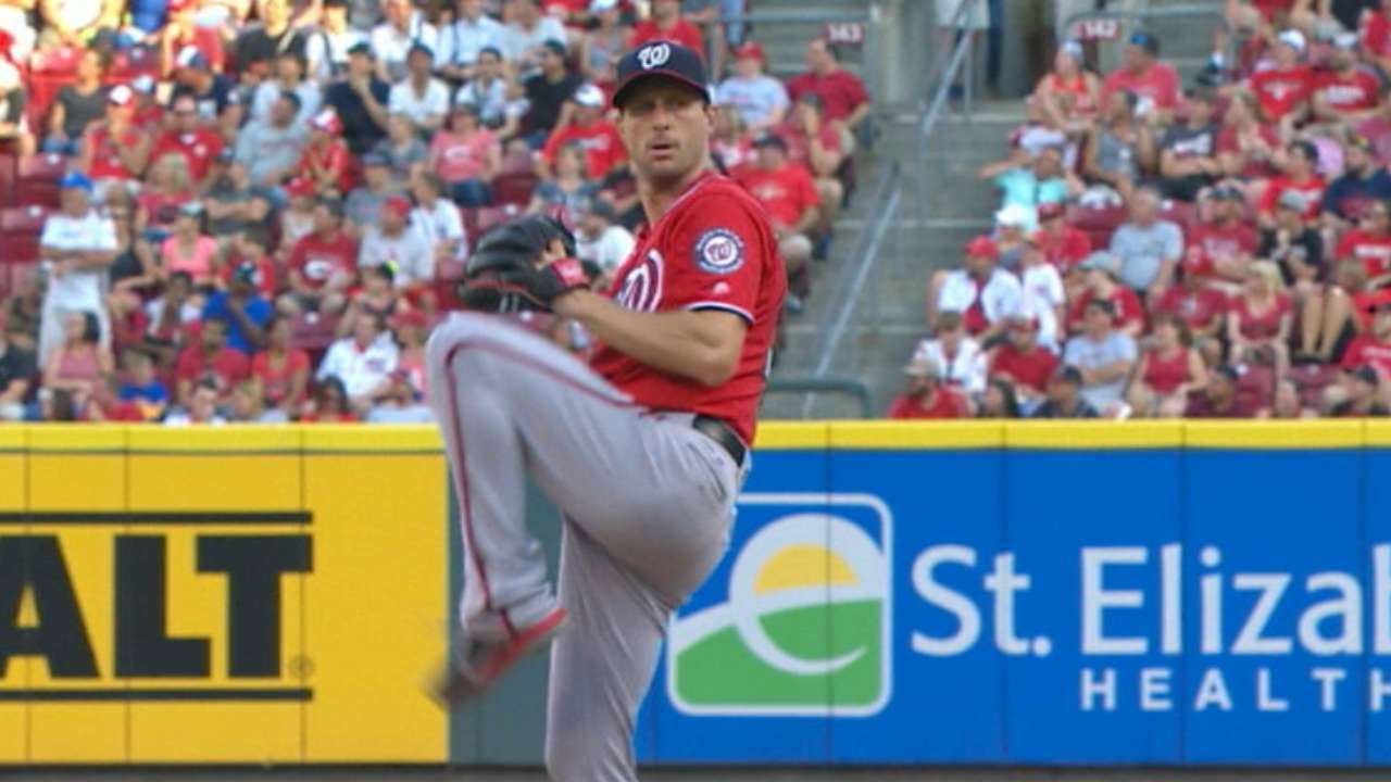 Scherzer blanks the Reds