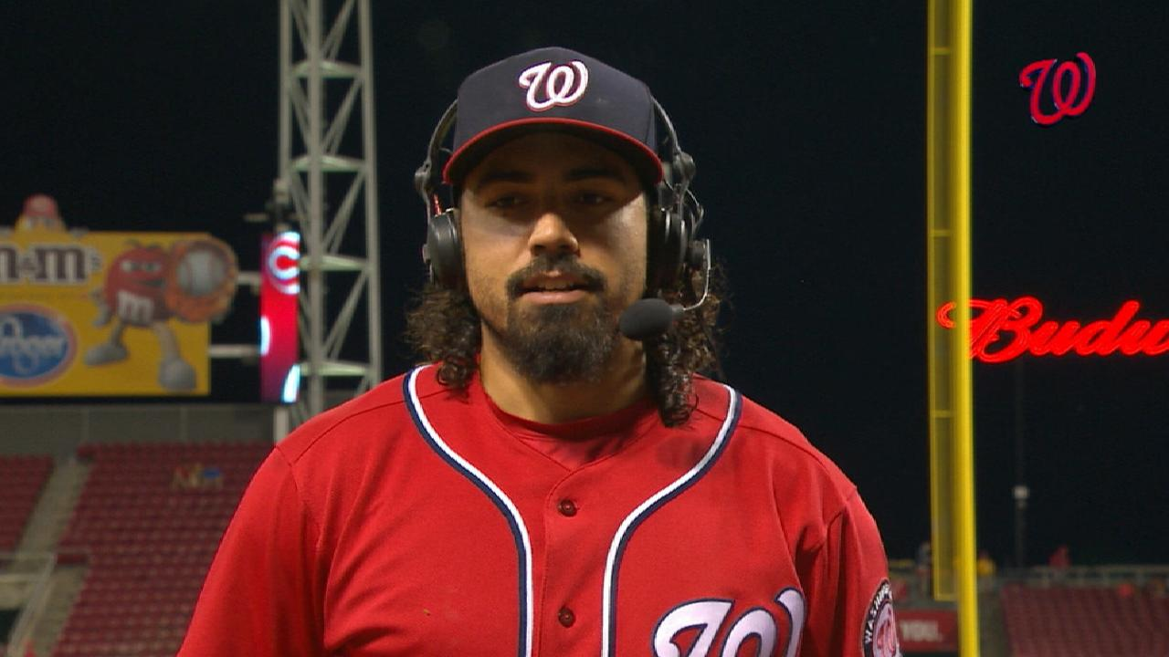 Rendon on big game, Nats' win