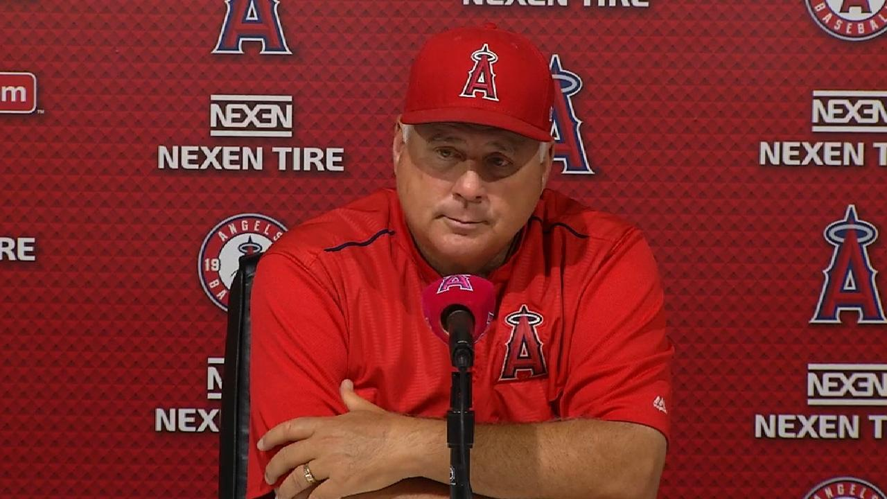 Scioscia on 6-3 loss to Rays