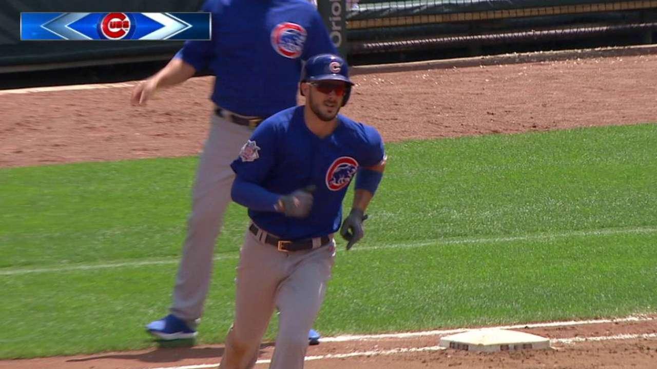 Bryant's two-run home run