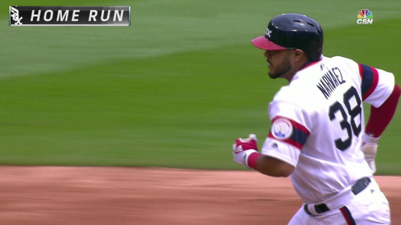 Narvaez's two-run homer