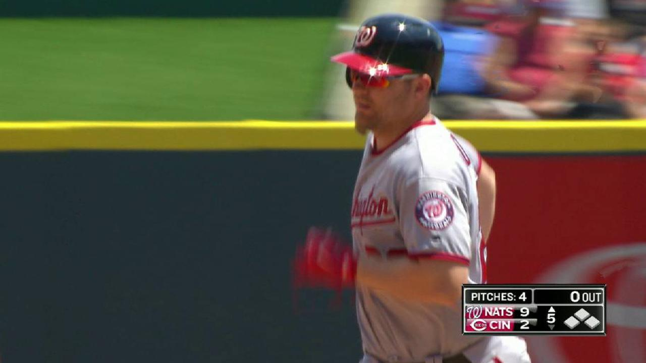 Lind's two-run homer