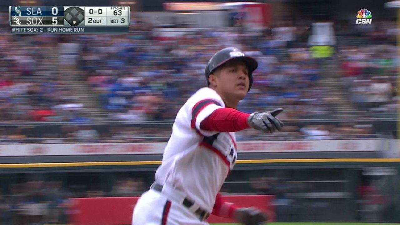 Avisail Garcia's two-run homer