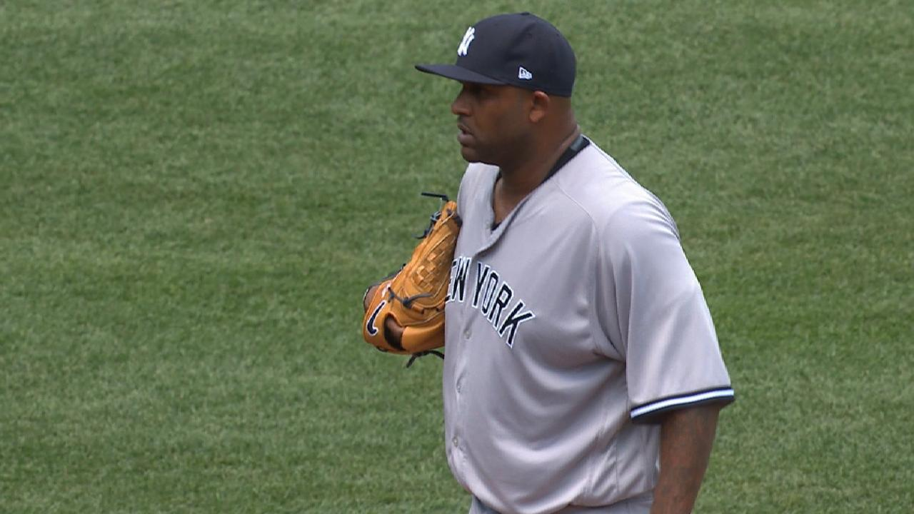Big guy: CC delivers as Yanks take Game 1